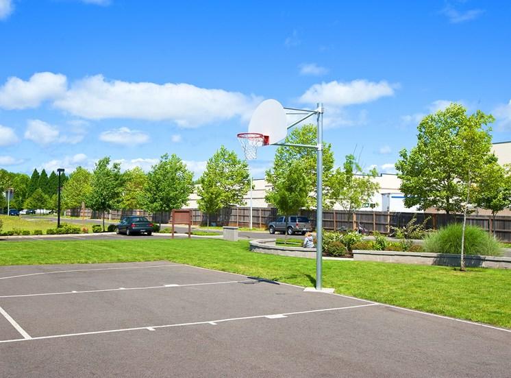 Prairie View Basketball Court