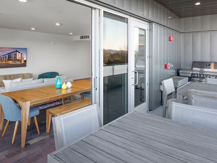 The Marilyn_Community Room and Deck