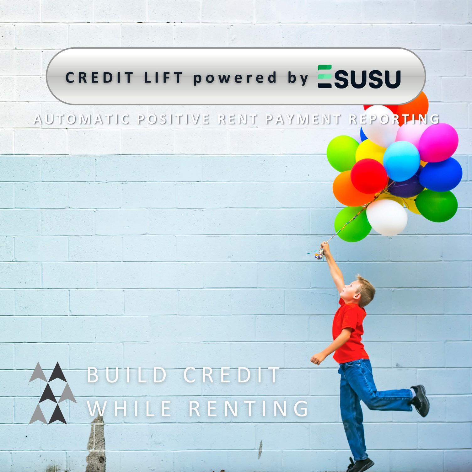 Credit Lift power with Esusu
