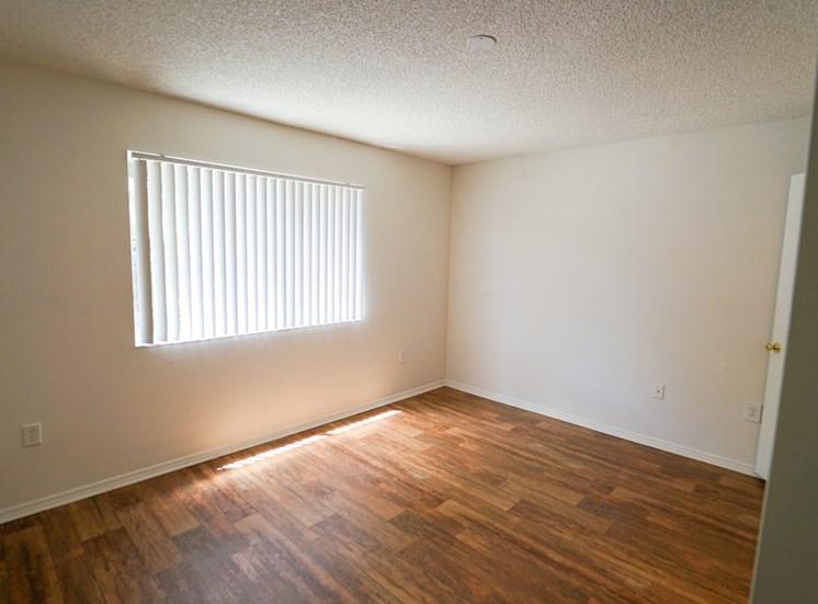 Room with Hardwood Style Flooring and Window