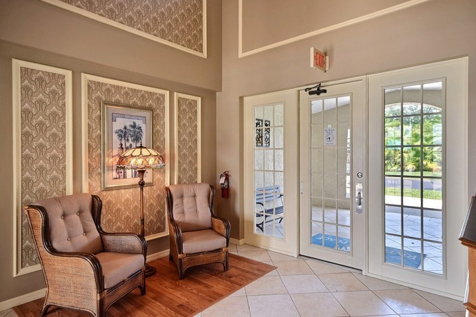 Community Office Lobby Sitting at River Park Place Apartments, Vero Beach