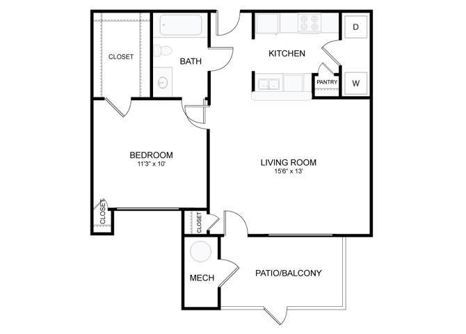 Floor Plans Of Eagle Ridge Apartment Homes In Loveland Co