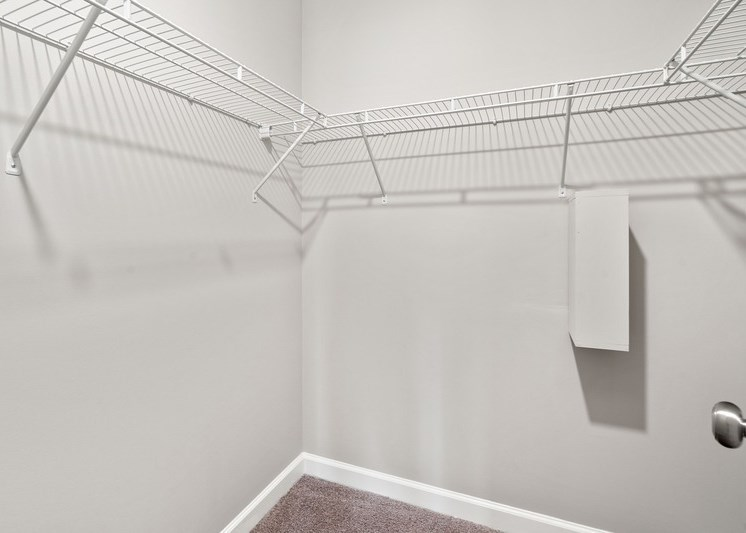 View of closet with built in storage