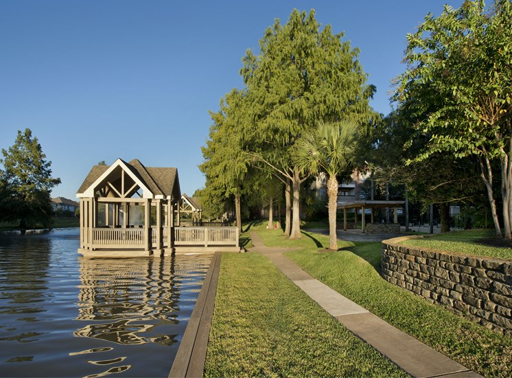 Waterfront View with Dock