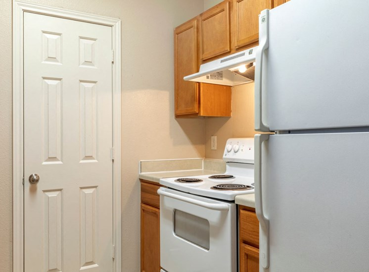Fully Equipped Kitchen with Pantry and wooden cabinetry