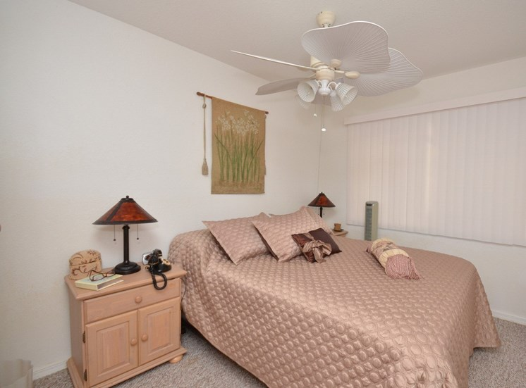 Comfortable Bedroom at River Park Place Apartments, Florida, 32962