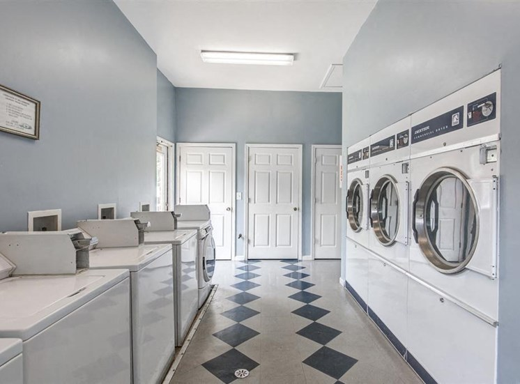 Laundry Facilities with Washers and Dryers