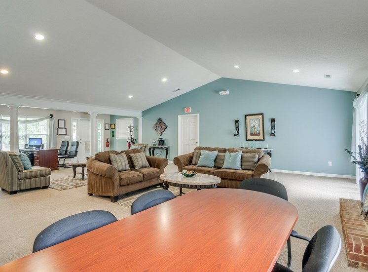 Clubhouse with Leasing Desk
