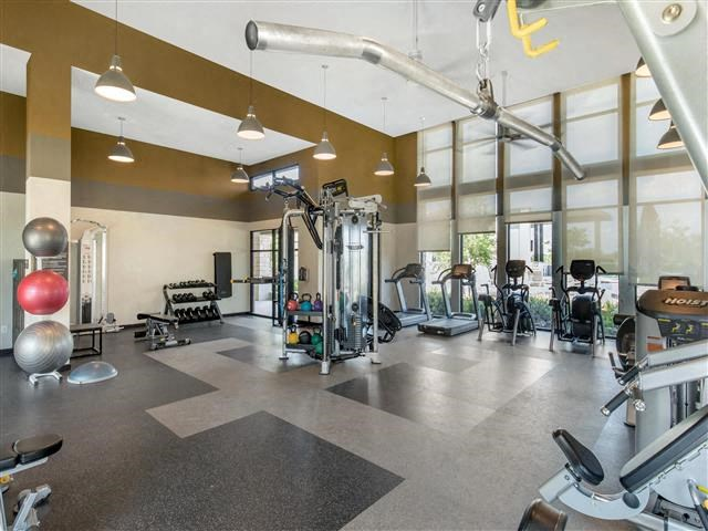 Strength and Cardio Fitness Center with treadmills and ellipticals