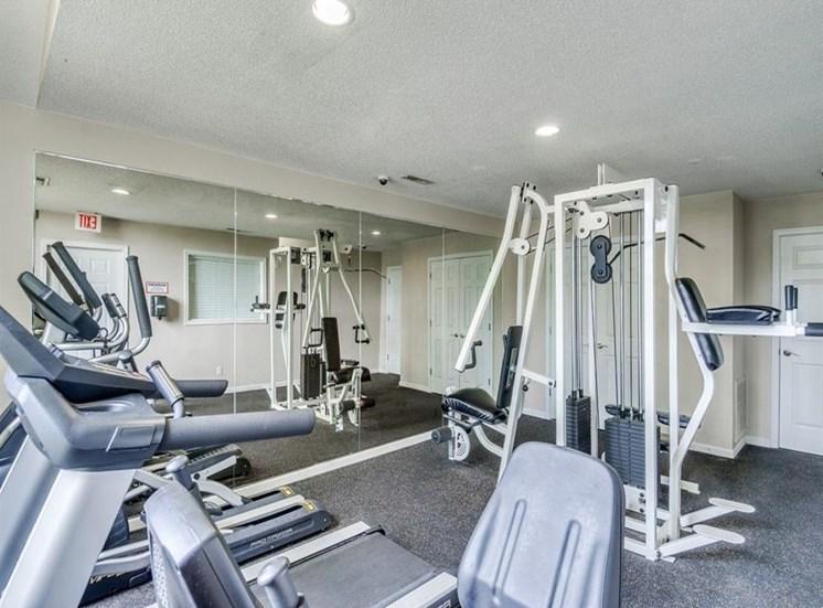 High-Tech Fitness Center