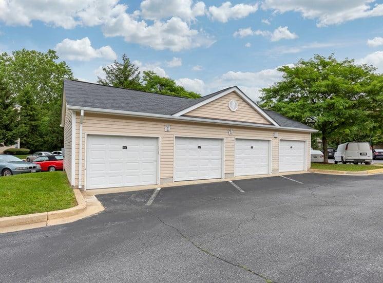 Garage Parking with 4 garage bays