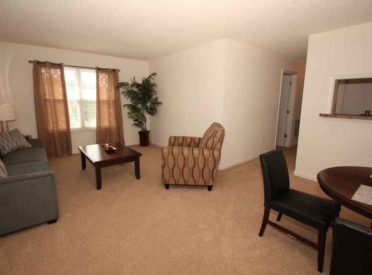 Decorated Living Room With Natural Light at Autumn Wind Apartments, Virginia, 22603