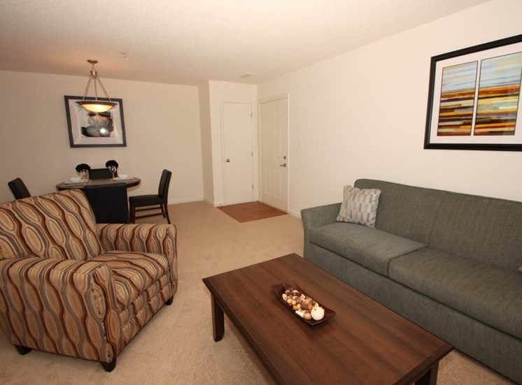 Living Room With Comfortable Sofa at Autumn Wind Apartments, Winchester, VA, 22603