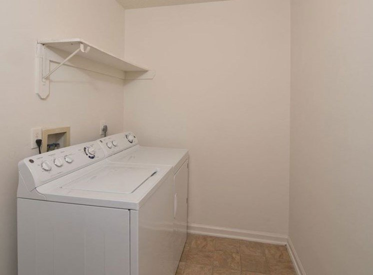 Full Sized Washer and Dryer in the laundry roomrt Apartments, Virginia, 23663