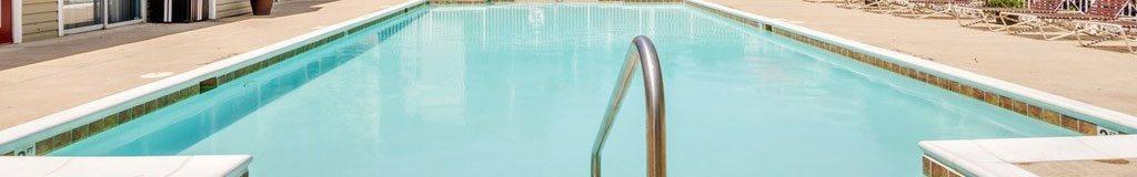 Refreshing Pool With Large Sundeck at Chestnut Ridge Apartments, Harrisonburg, Virginia