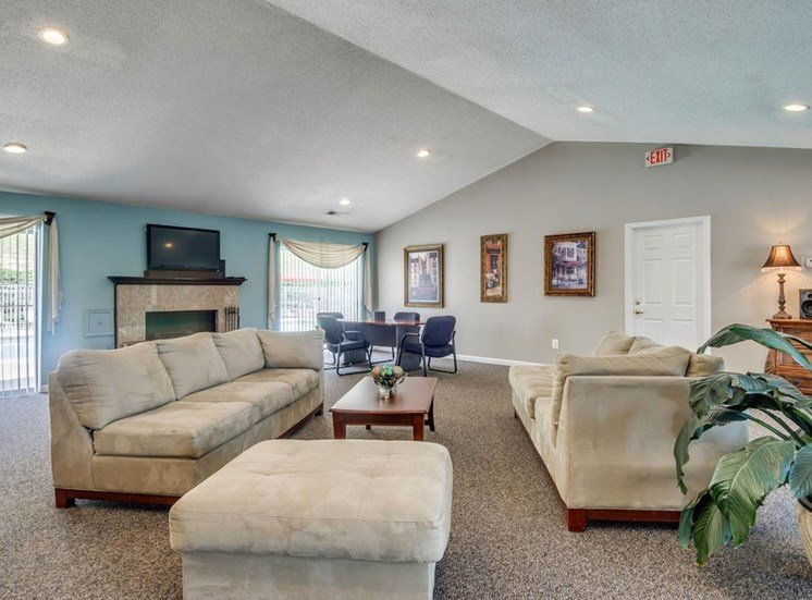 Clubhouse With Ample Sitting And Television