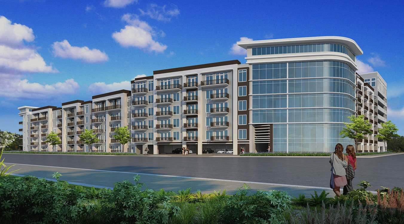 Reverie, new Uptown apartments on Post Oak Park Dr in Houston