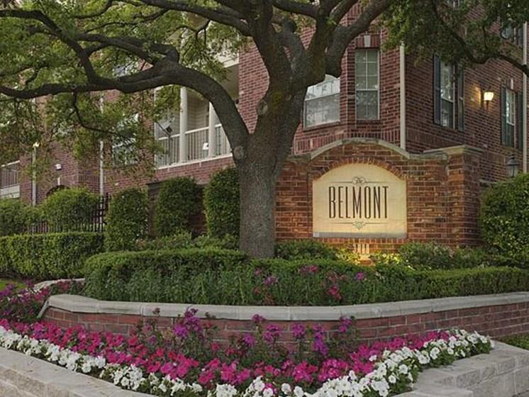 The Belmont apartments in Houston Inner Loop
