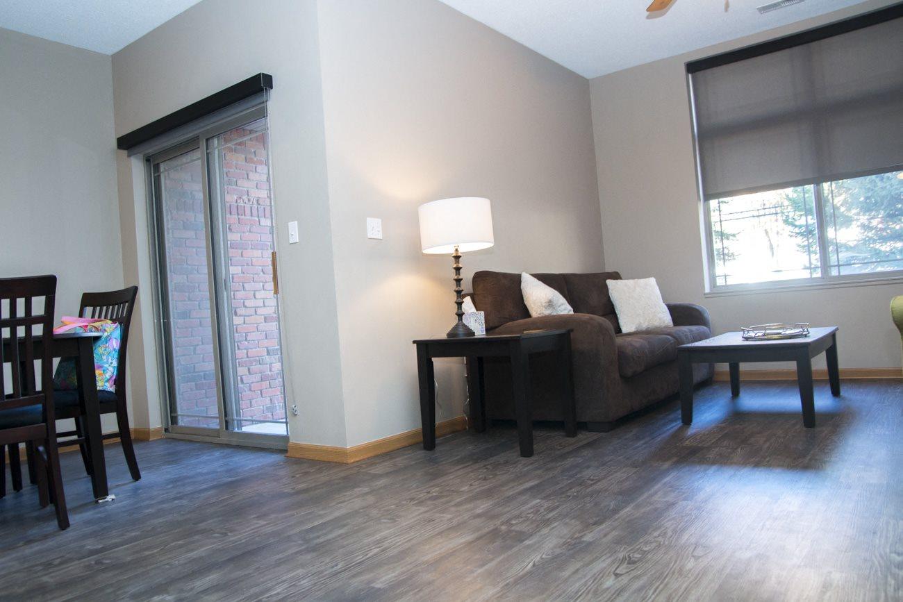 Interiors-Southwind Villas living room in La Vista NE