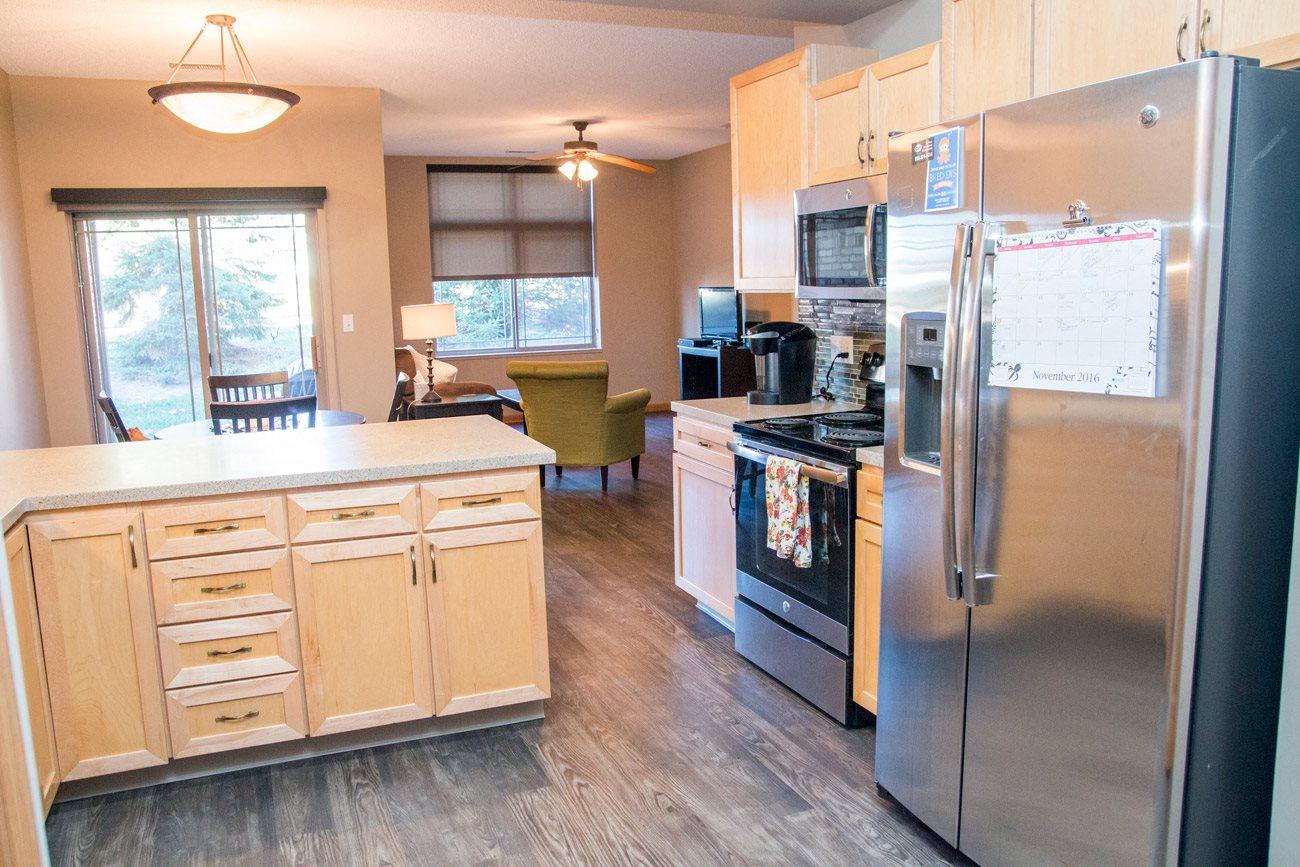Interiors-Southwind Villas renovated kitchen in La Vista NE