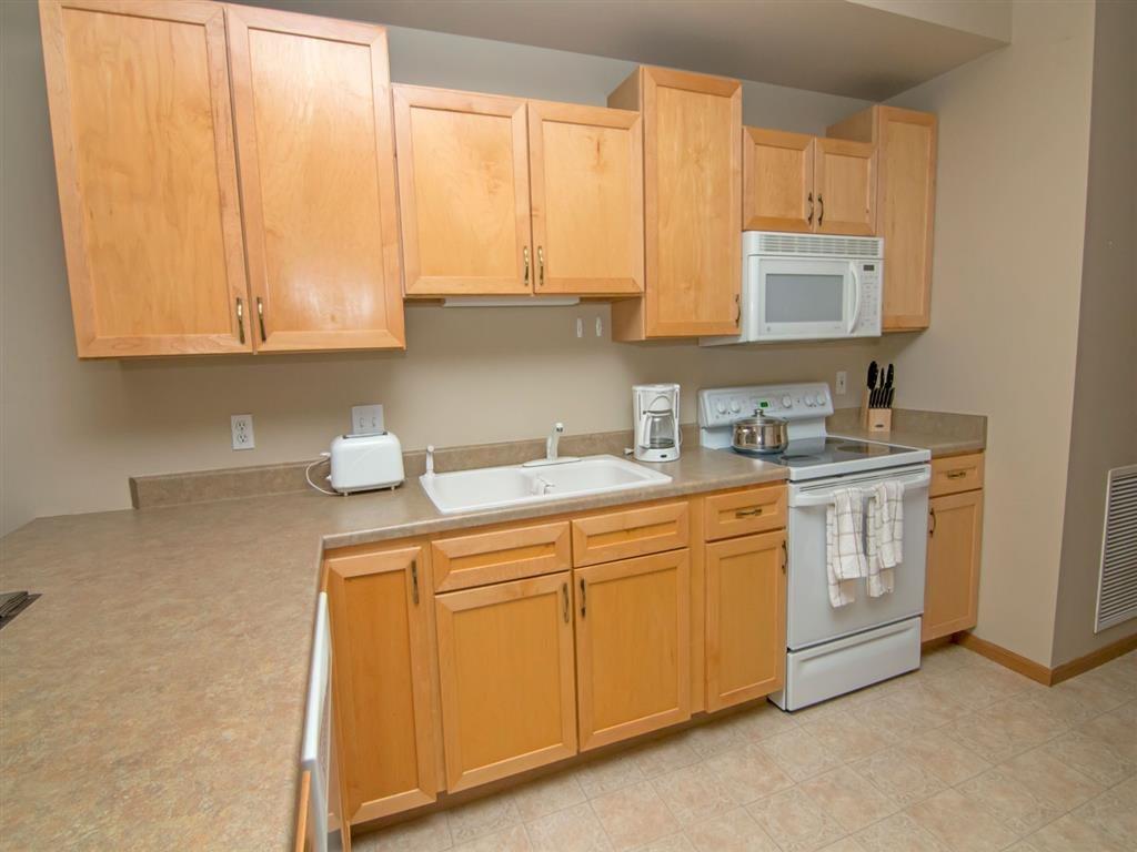 kitchen at Southwind Villas in La Vista Nebraska