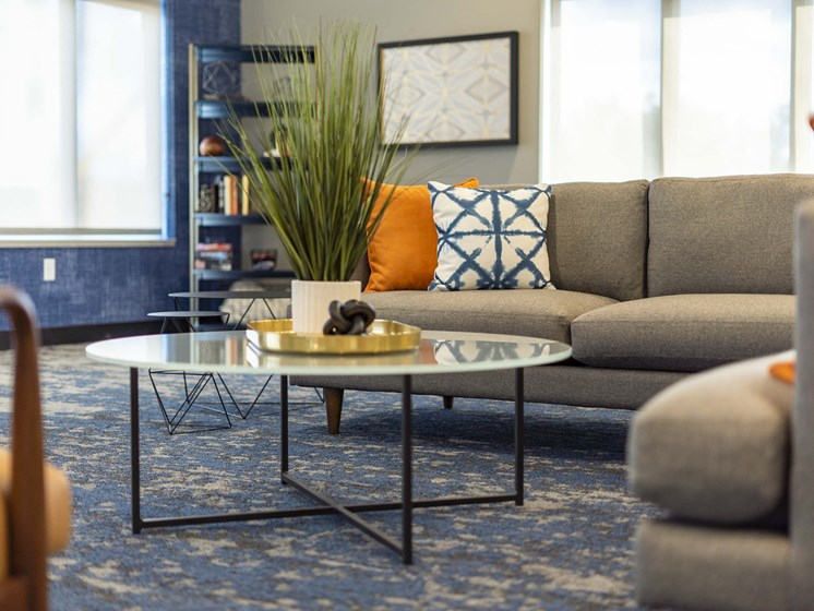 lubhouse at The Flats at Shadow Creek new luxury apartments in east Lincoln NE 68520