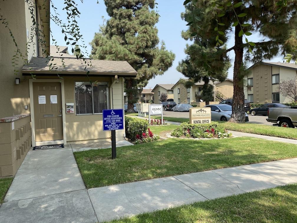 Greenbriar Woods Apartment Homes in Fullerton California.