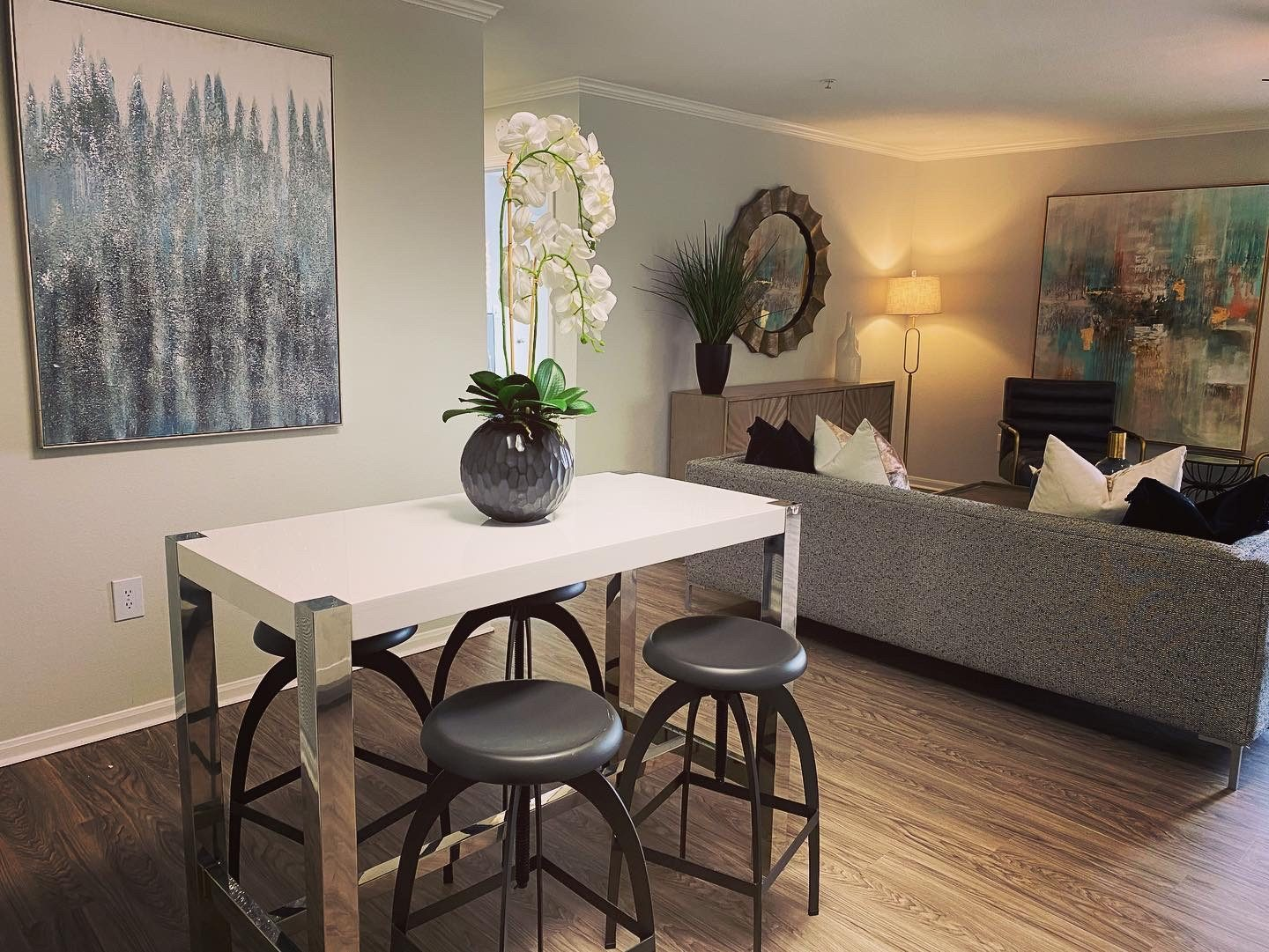 Remodeled Model dining area at Parkwood Terrace, Round Rock, 78664