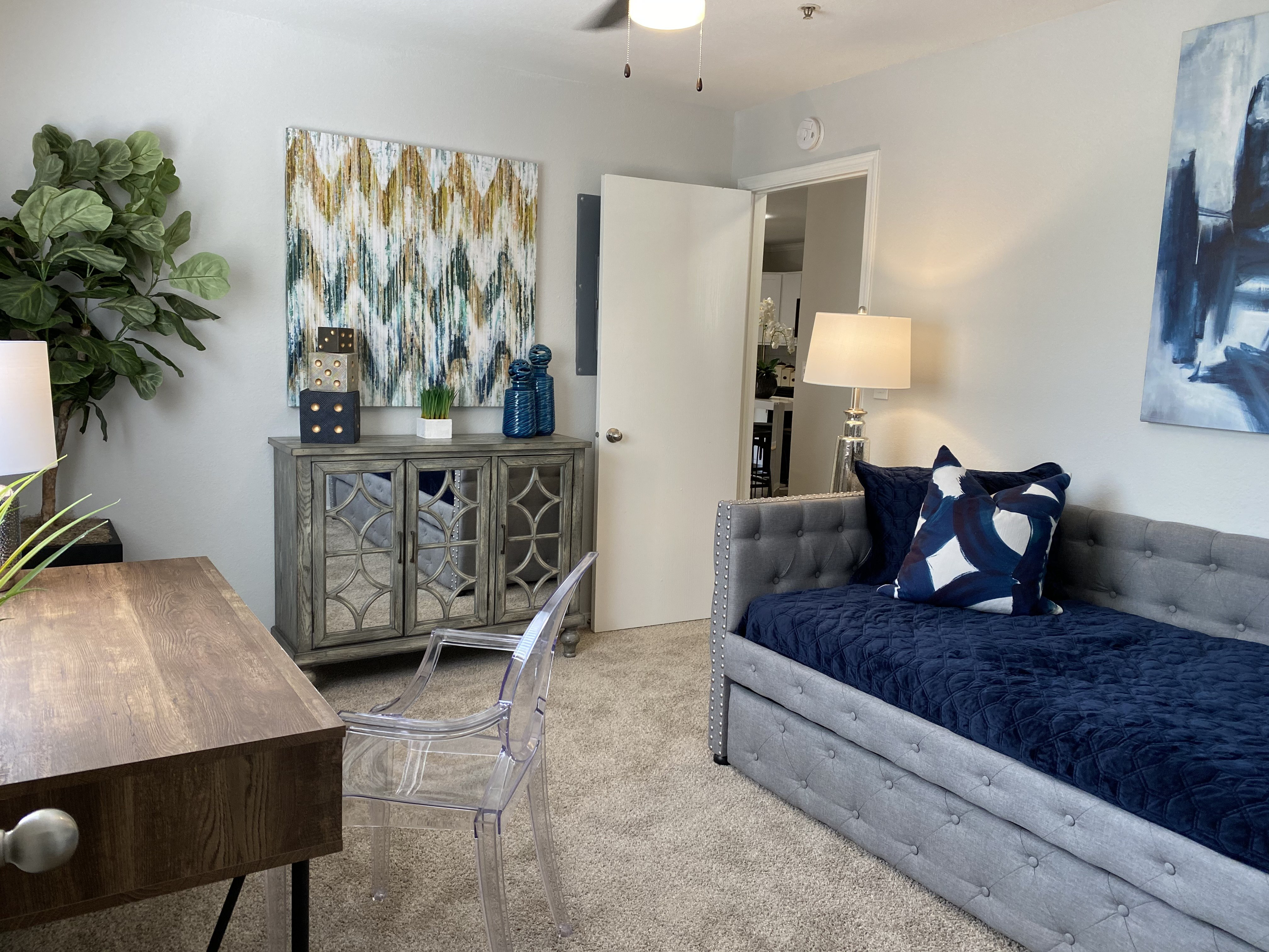 Small Bedroom at Parkwood Terrace, Texas, 78664