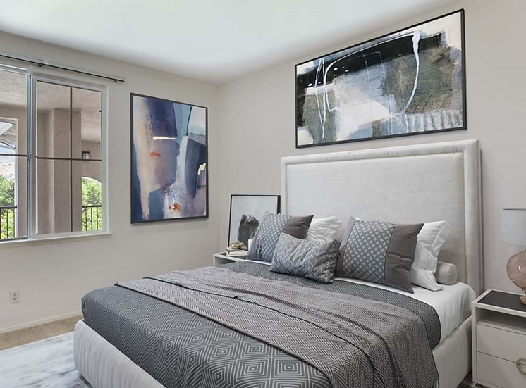 Bedroom l Hidden Valley Apartments in Simi Valley Ca