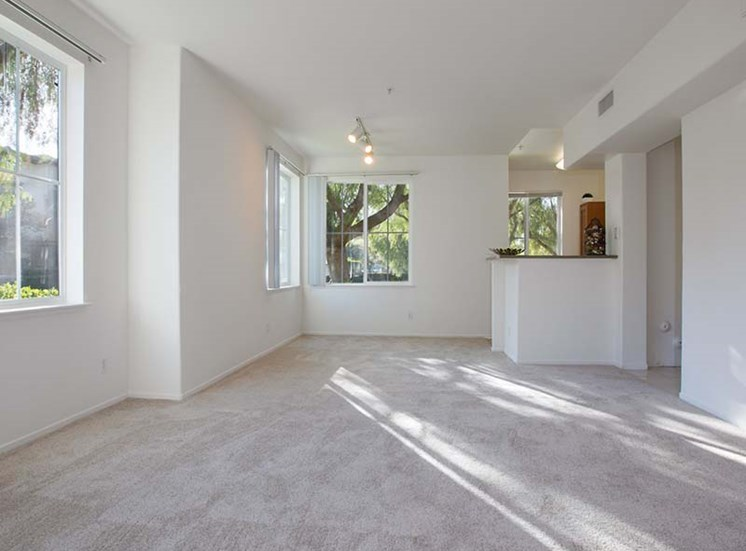 Living and dining area l Simi Valley, CA Apartments For Rent