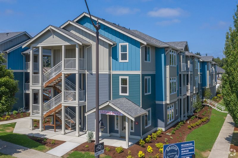 Building Exterior | Briggs Village Apartments in OLYMPIA, WA 98501