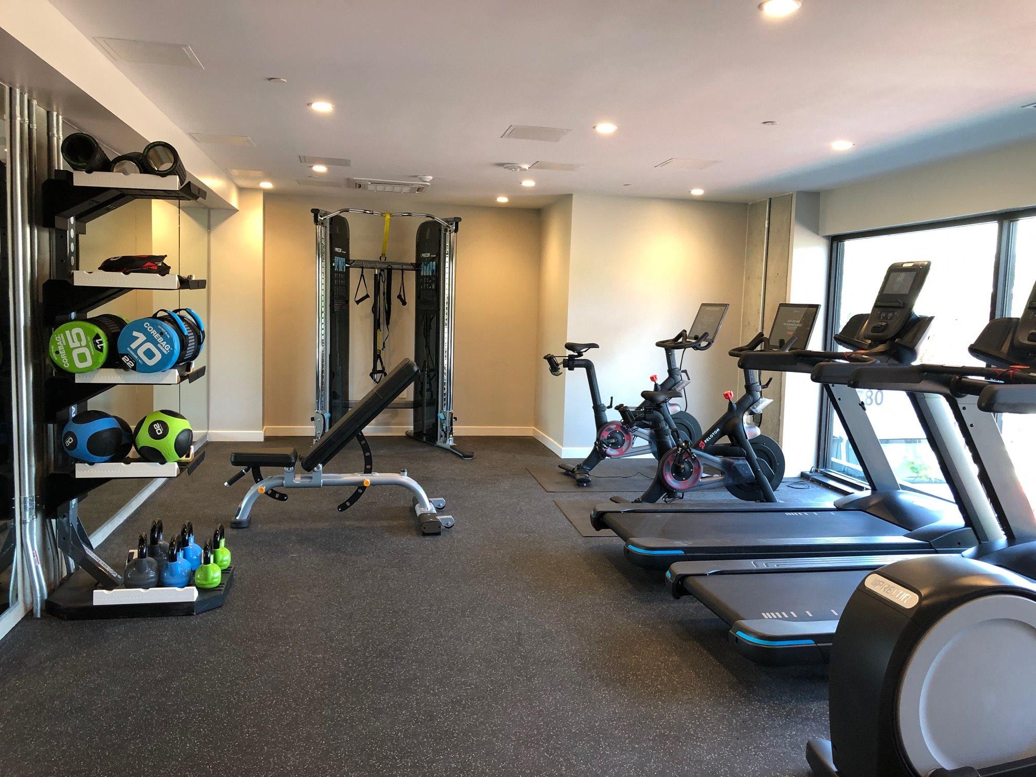 Gym l Rasa Apartments in Oakland CA