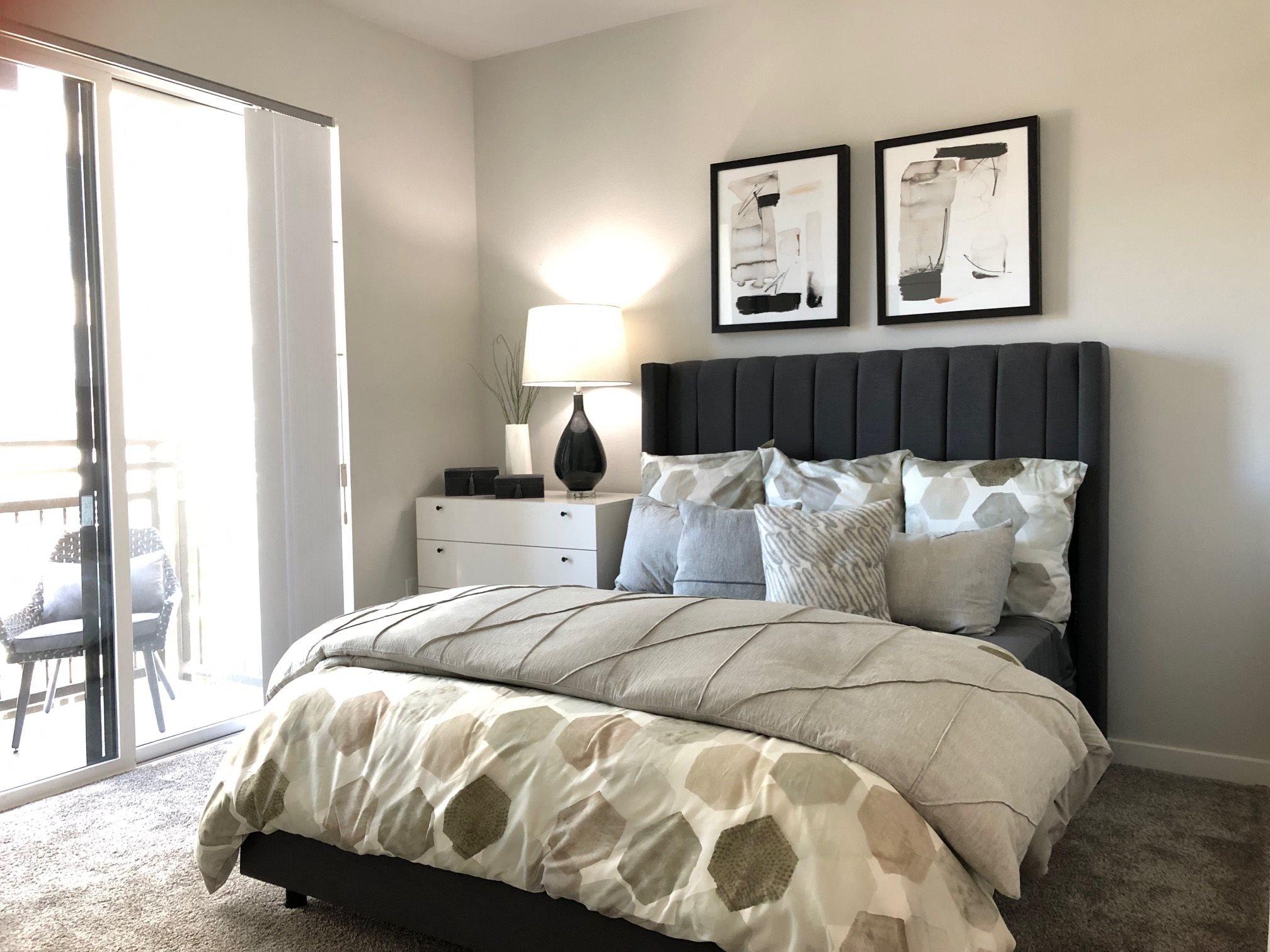 Bedroom l Rasa Apartments in Oakland CA