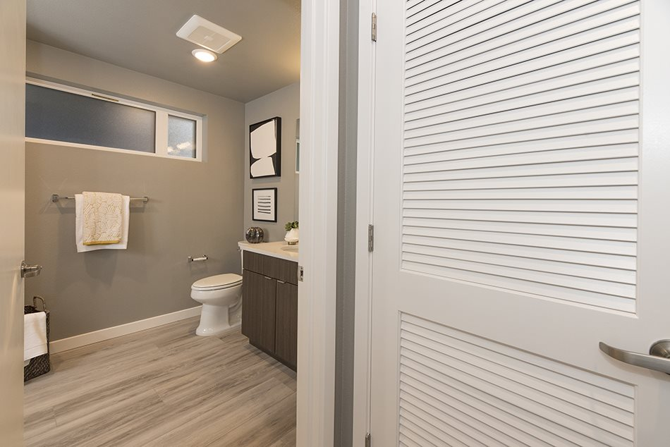 View to bathroom