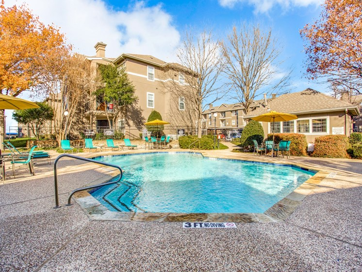 Stylish Resort Style Pools at The Gio, Plano, TX