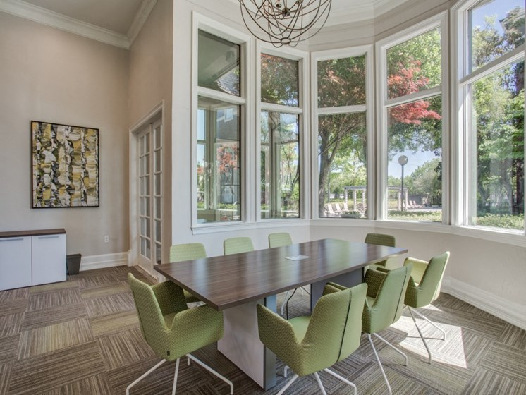 Conference Room at The Giovanna, Plano