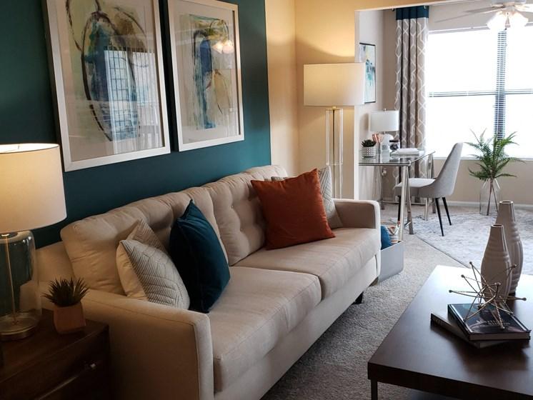 Comfortable Sofa at Brook Valley Apartments, Douglasville