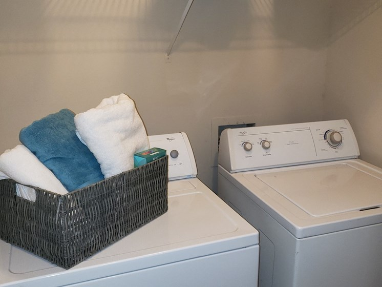 Washer Dryer at Brook Valley Apartments, Douglasville