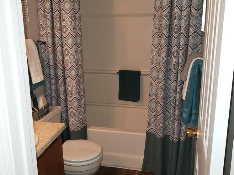 Large Soaking Tub In Bathroom at Brook Valley Apartments, Georgia, 30135