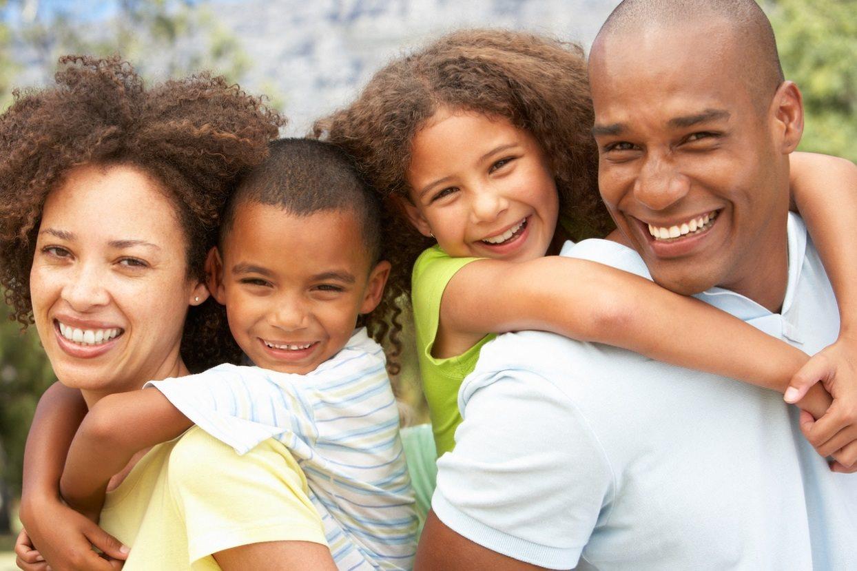 Stock image- family