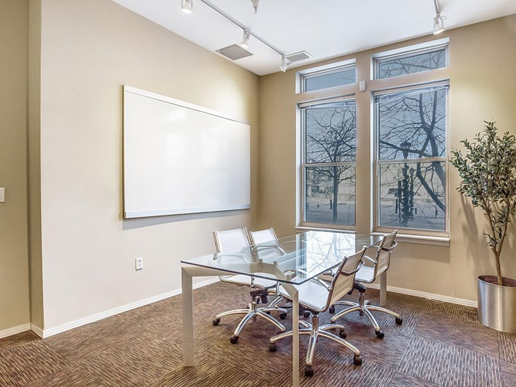 business center alt view at Uptown Lake Apartments, Minnesota