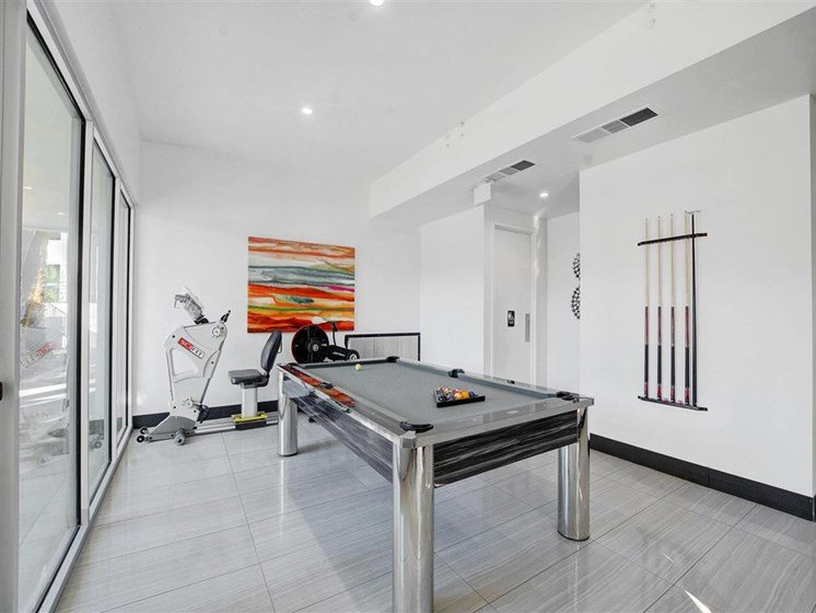 Evoq clubhouse pool table