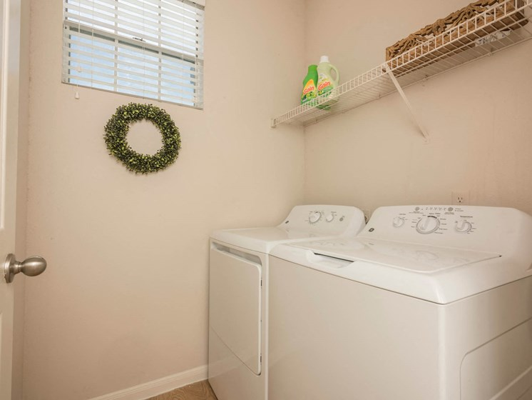 Washer and Dryer in each Unit (full size)