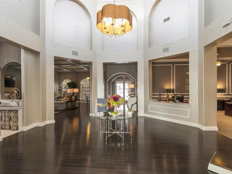 Clubroom With HDTV at Parc Woodland, Conroe