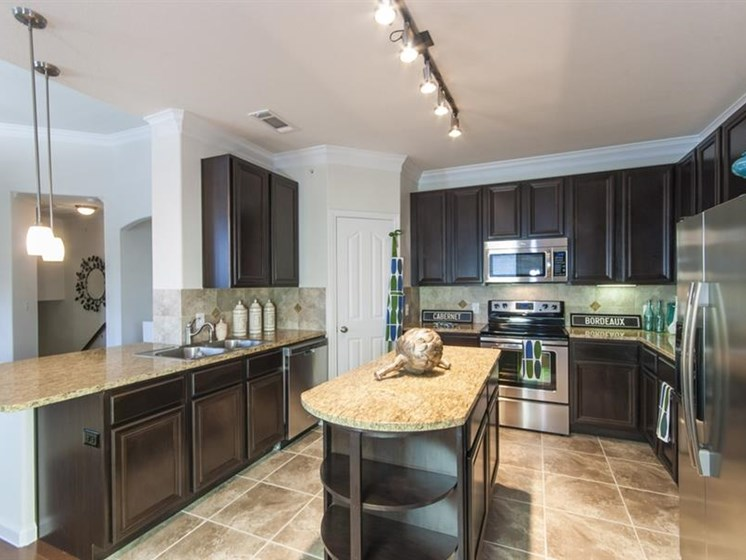 Stainless Appliances at Parc Woodland, Conroe, TX