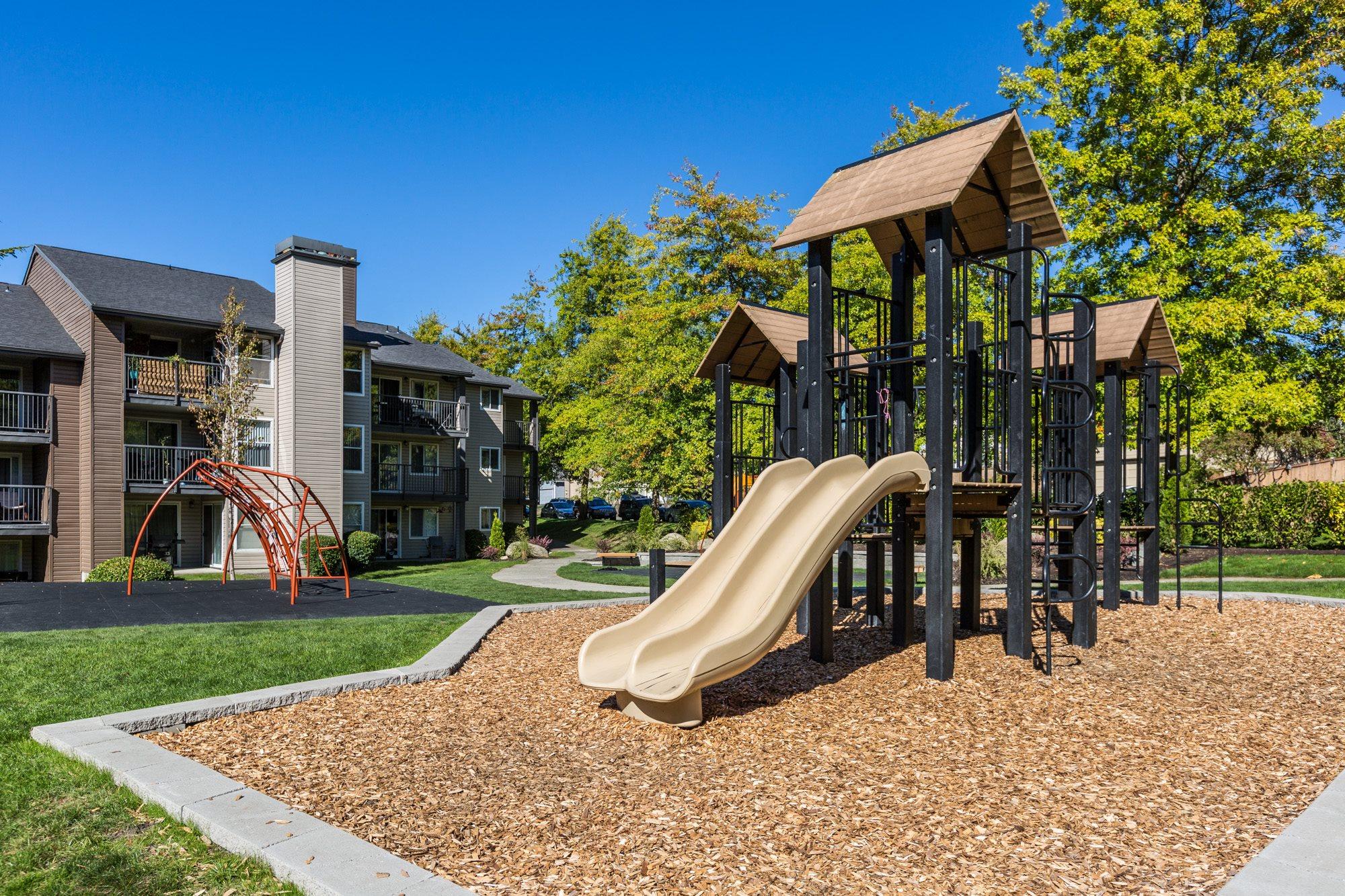 Playground at The Fairways Apartments, Tacoma, WA,98422