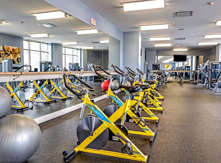 fitness center-video programs, cycles