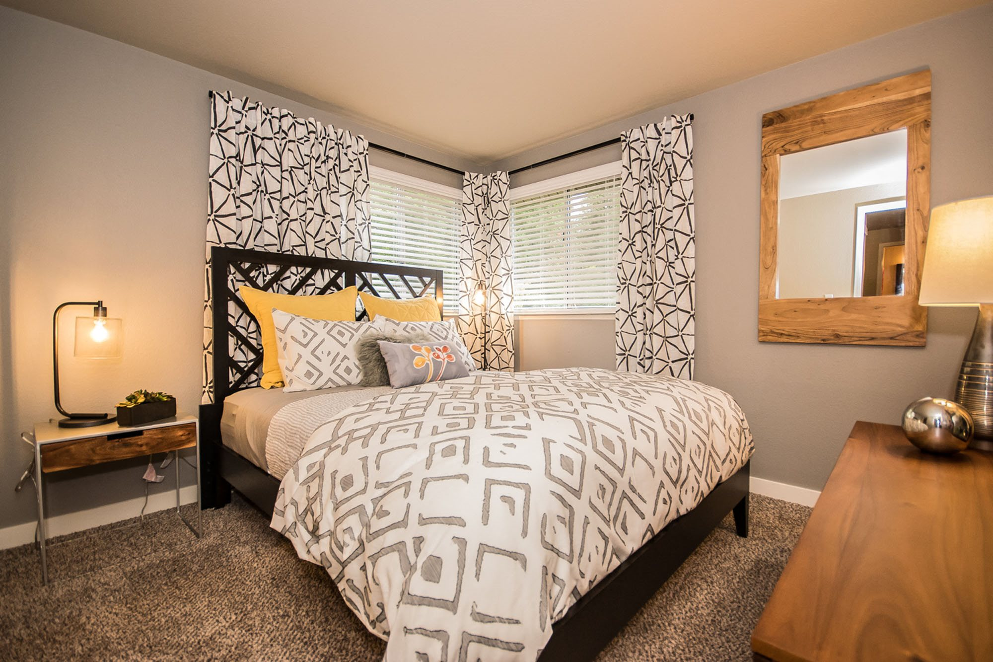 Lots of natural light in apartment at The Fairways Apartments, Tacoma, WA,98422