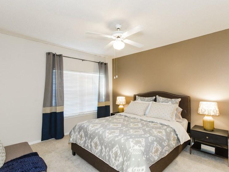 spacious bedrooms with en suite bathrooms.